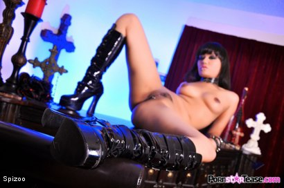 Photo number 21 from Evil Annie Cruz shot for  on Kink.com. Featuring Annie Cruz in hardcore BDSM & Fetish porn.