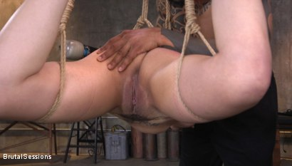 Photo number 4 from Penelope Reed Takes A Brutal Pounding From Eddie Jaye's Huge Cock shot for Brutal Sessions on Kink.com. Featuring Eddie Jaye and Penelope Reed in hardcore BDSM & Fetish porn.