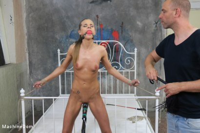 Photo number 12 from Helpless Sarah Kay gets Nipple Punished and Machine-Fucked shot for Machine Dom on Kink.com. Featuring Sarah Kay and Ar in hardcore BDSM & Fetish porn.