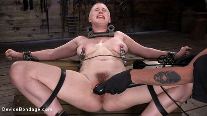 Photo number 13 from Good Girls Need to Suffer in Bondage Too! shot for Device Bondage on Kink.com. Featuring Riley Nixon in hardcore BDSM & Fetish porn.