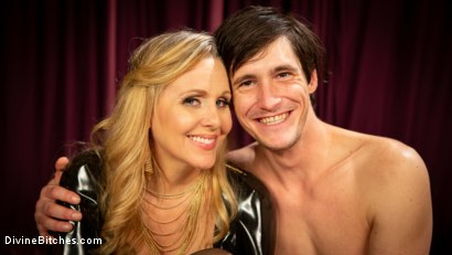 Photo number 17 from Latex Goddess Julia Ann Dominates Dripping Cock Whore shot for Divine Bitches on Kink.com. Featuring Julia Ann and Tony Orlando in hardcore BDSM & Fetish porn.