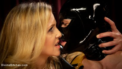 Photo number 6 from Latex Goddess Julia Ann Dominates Dripping Cock Whore shot for Divine Bitches on Kink.com. Featuring Julia Ann and Tony Orlando in hardcore BDSM & Fetish porn.