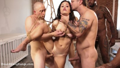 Photo number 3 from Alana Cruise Gets Gangbanged by Prince Yahshua and Crew shot for Bound Gang Bangs on Kink.com. Featuring Donny Sins, Jon Jon, Mr. Pete, Alana Cruise , Prince Yahshua and Zachary Wild in hardcore BDSM & Fetish porn.