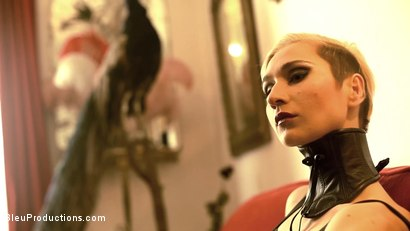 Photo number 8 from The Black Widow: Chapter One shot for Bleu Films on Kink.com. Featuring Yumie Volupte, Ardiente de la Huerta, Billybutt Rosebud and AJ Dirtystein in hardcore BDSM & Fetish porn.