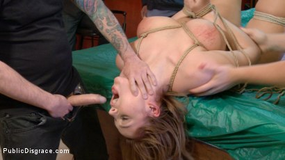 Photo number 19 from Innocent Blonde Hadley Viscara Fucked Raw In Trashy Bar shot for Public Disgrace on Kink.com. Featuring Hadley Viscara , Mistress Kara and Tommy Pistol in hardcore BDSM & Fetish porn.
