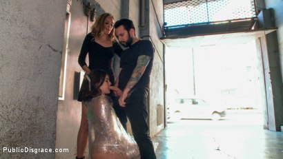 Photo number 2 from Juliette March is Disgusting in this Brutal All-Anal Public Scene! shot for Public Disgrace on Kink.com. Featuring Juliette March, Tommy Pistol and Mona Wales in hardcore BDSM & Fetish porn.
