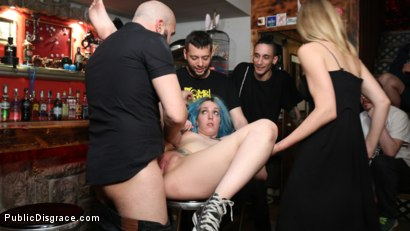 Photo number 9 from Mona Wales Humiliates Liz Rainbow Beyond Her Sickest Fantasies! shot for Public Disgrace on Kink.com. Featuring Max Cortes, Mona Wales and Liz Rainbow in hardcore BDSM & Fetish porn.