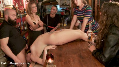 Photo number 14 from Mona Wales Humiliates Liz Rainbow Beyond Her Sickest Fantasies! shot for Public Disgrace on Kink.com. Featuring Max Cortes, Mona Wales and Liz Rainbow in hardcore BDSM & Fetish porn.