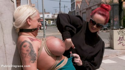 Photo number 1 from Busty Blonde Candela X Submits In Biker Bar shot for Public Disgrace on Kink.com. Featuring Ramon Nomar, Mz Berlin and Candela X in hardcore BDSM & Fetish porn.