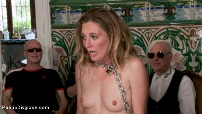 Photo number 12 from Fancy Party Interrupted To Tame The Feral Princess of Filth! shot for Public Disgrace on Kink.com. Featuring Ramon Nomar, Nikki Darling, Bella Rossi, Mimosa and Mona Wales in hardcore BDSM & Fetish porn.