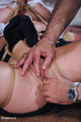 Photo number 8 from Because I Tease the Boys shot for Wasteland on Kink.com. Featuring Nyssa Nevers and David Lawrence in hardcore BDSM & Fetish porn.