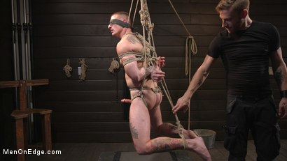 Photo number 10 from Tattooed Stud Dane Stewart Gets His Big Dick Electrified and Edged shot for Men On Edge on Kink.com. Featuring Dane Stewart in hardcore BDSM & Fetish porn.