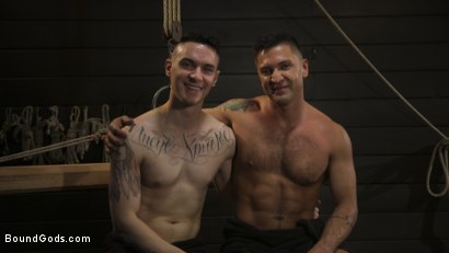 Photo number 15 from Pretty boy Zak Bishop gets trained by Master Pacifico  shot for Bound Gods on Kink.com. Featuring Dominic Pacifico and Zak Bishop in hardcore BDSM & Fetish porn.