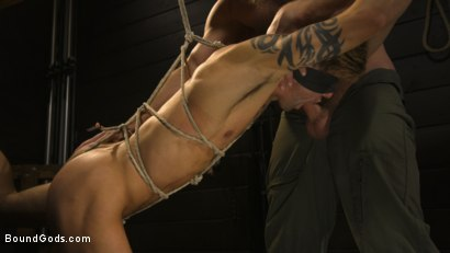 Photo number 9 from Fuck toy Casey Everett gets used by beefcake Colby Jansen shot for Bound Gods on Kink.com. Featuring Colby Jansen and Casey Everett in hardcore BDSM & Fetish porn.