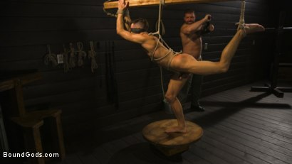 Photo number 14 from Fuck toy Casey Everett gets used by beefcake Colby Jansen shot for Bound Gods on Kink.com. Featuring Colby Jansen and Casey Everett in hardcore BDSM & Fetish porn.