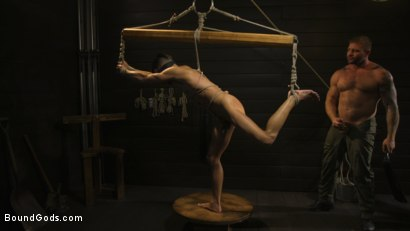 Photo number 2 from Fuck toy Casey Everett gets used by beefcake Colby Jansen shot for Bound Gods on Kink.com. Featuring Colby Jansen and Casey Everett in hardcore BDSM & Fetish porn.