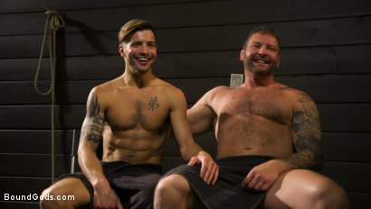 Photo number 16 from Fuck toy Casey Everett gets used by beefcake Colby Jansen shot for Bound Gods on Kink.com. Featuring Colby Jansen and Casey Everett in hardcore BDSM & Fetish porn.