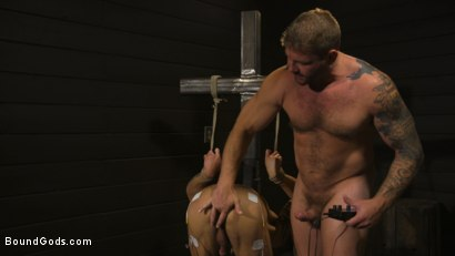 Photo number 7 from Fuck toy Casey Everett gets used by beefcake Colby Jansen shot for Bound Gods on Kink.com. Featuring Colby Jansen and Casey Everett in hardcore BDSM & Fetish porn.