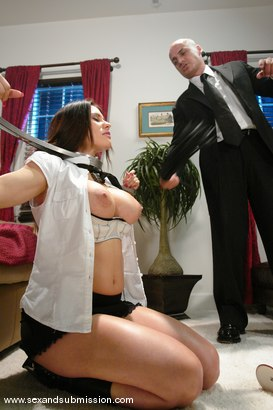 Photo number 4 from The Heirloom shot for Sex And Submission on Kink.com. Featuring Ben English and Sheila Marie in hardcore BDSM & Fetish porn.