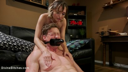 Photo number 13 from Date Night: Eliza Jane Stuffs Pierce Paris' Balls in His Ass  shot for Divine Bitches on Kink.com. Featuring Eliza Jane  and Pierce Paris in hardcore BDSM & Fetish porn.