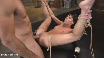 Photo number 14 from Skinny Newbie Lexi Foxy gets her Tiny Pussy Pounded in Brutal Bondage shot for Brutal Sessions on Kink.com. Featuring Charles Dera and Lexi Foxy in hardcore BDSM & Fetish porn.