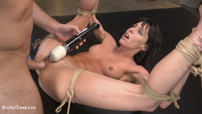 Photo number 15 from Skinny Newbie Lexi Foxy gets her Tiny Pussy Pounded in Brutal Bondage shot for Brutal Sessions on Kink.com. Featuring Charles Dera and Lexi Foxy in hardcore BDSM & Fetish porn.