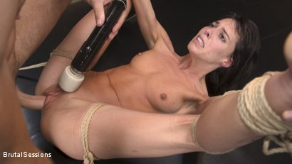 Photo number 18 from Skinny Newbie Lexi Foxy gets her Tiny Pussy Pounded in Brutal Bondage shot for Brutal Sessions on Kink.com. Featuring Charles Dera and Lexi Foxy in hardcore BDSM & Fetish porn.