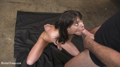 Photo number 4 from Skinny Newbie Lexi Foxy gets her Tiny Pussy Pounded in Brutal Bondage shot for Brutal Sessions on Kink.com. Featuring Charles Dera and Lexi Foxy in hardcore BDSM & Fetish porn.