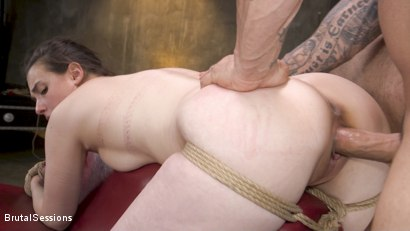Photo number 15 from Bondage Legend Casey Calvert Tied Hard and Fucked Harder by Huge Cock shot for Brutal Sessions on Kink.com. Featuring Derrick Pierce and Casey Calvert in hardcore BDSM & Fetish porn.