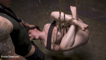 Photo number 1 from Bondage Legend Casey Calvert Tied Hard and Fucked Harder by Huge Cock shot for Brutal Sessions on Kink.com. Featuring Derrick Pierce and Casey Calvert in hardcore BDSM & Fetish porn.