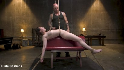 Photo number 2 from Bondage Legend Casey Calvert Tied Hard and Fucked Harder by Huge Cock shot for Brutal Sessions on Kink.com. Featuring Derrick Pierce and Casey Calvert in hardcore BDSM & Fetish porn.