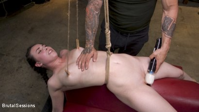 Photo number 7 from Bondage Legend Casey Calvert Tied Hard and Fucked Harder by Huge Cock shot for Brutal Sessions on Kink.com. Featuring Derrick Pierce and Casey Calvert in hardcore BDSM & Fetish porn.