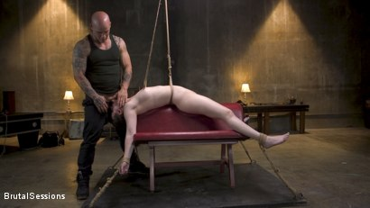 Photo number 8 from Bondage Legend Casey Calvert Tied Hard and Fucked Harder by Huge Cock shot for Brutal Sessions on Kink.com. Featuring Derrick Pierce and Casey Calvert in hardcore BDSM & Fetish porn.