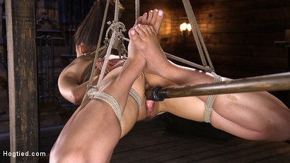 Photo number 10 from Petite Slut Avi Love is Bound, Tormented, and Made to Cum shot for Hogtied on Kink.com. Featuring Avi Love in hardcore BDSM & Fetish porn.
