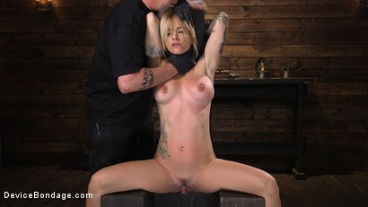 Photo number 1 from Fresh Meat: Sammie Six Shackled in Grueling Bondage shot for Device Bondage on Kink.com. Featuring Sammie Six in hardcore BDSM & Fetish porn.