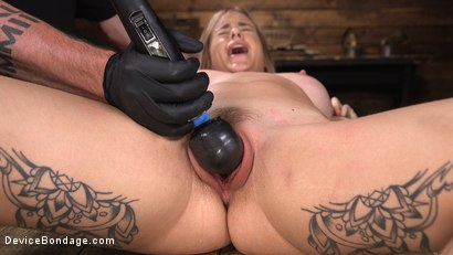 Photo number 10 from Fresh Meat: Sammie Six Shackled in Grueling Bondage shot for Device Bondage on Kink.com. Featuring Sammie Six in hardcore BDSM & Fetish porn.