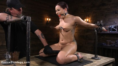 Photo number 8 from Gabriella Paltrova Anal Orgasm in Diabolical Predicament Bondage shot for Device Bondage on Kink.com. Featuring Gabriella Paltrova in hardcore BDSM & Fetish porn.