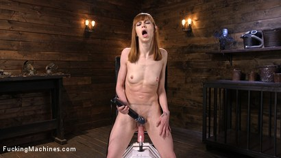 Photo number 8 from Red Head Slut Gets Her Brains Fucked Out!!! shot for Fucking Machines on Kink.com. Featuring Alexa Nova in hardcore BDSM & Fetish porn.
