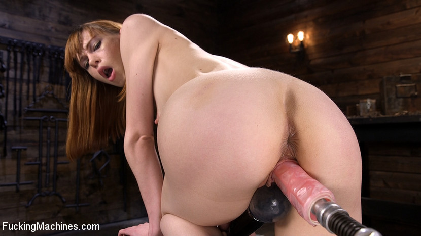 Red Head Slut Gets Her Brains Fucked Out!!!