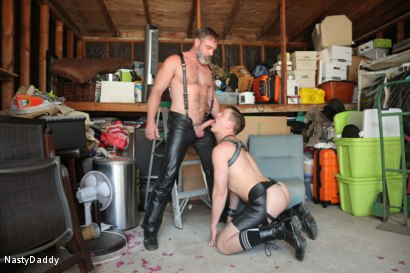Photo number 11 from Lick it Boy shot for Nasty Daddy on Kink.com. Featuring Kristofer Weston and Tyler Rush in hardcore BDSM & Fetish porn.