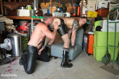 Photo number 12 from Lick it Boy shot for Nasty Daddy on Kink.com. Featuring Kristofer Weston and Tyler Rush in hardcore BDSM & Fetish porn.