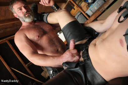 Photo number 19 from Lick it Boy shot for Nasty Daddy on Kink.com. Featuring Kristofer Weston and Tyler Rush in hardcore BDSM & Fetish porn.