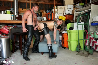 Photo number 22 from Lick it Boy shot for Nasty Daddy on Kink.com. Featuring Kristofer Weston and Tyler Rush in hardcore BDSM & Fetish porn.
