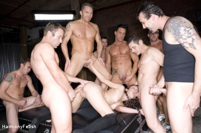 Photo number 16 from Extreme Schoolgirl Gangbang shot for Harmony Fetish on Kink.com. Featuring Amber Rayne, Jack Logan, Deke, Ethan Cage, Marco Banderas, Jazz Duro, Jordan Lane, Jack Lawrence, Marcus London, Oliver, Mark Davis and Trent in hardcore BDSM & Fetish porn.