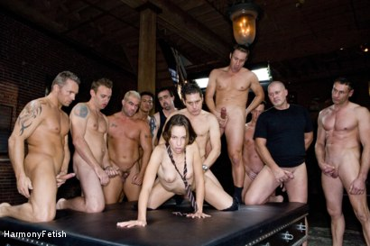 Photo number 20 from Extreme Schoolgirl Gangbang shot for Harmony Fetish on Kink.com. Featuring Amber Rayne, Jack Logan, Deke, Ethan Cage, Marco Banderas, Jazz Duro, Jordan Lane, Jack Lawrence, Marcus London, Oliver, Mark Davis and Trent in hardcore BDSM & Fetish porn.