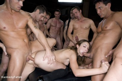 Photo number 5 from Extreme Schoolgirl Gangbang shot for Harmony Fetish on Kink.com. Featuring Amber Rayne, Jack Logan, Deke, Ethan Cage, Marco Banderas, Jazz Duro, Jordan Lane, Jack Lawrence, Marcus London, Oliver, Mark Davis and Trent in hardcore BDSM & Fetish porn.