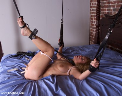 Photo number 8 from Goldie shot for Hogtied on Kink.com. Featuring Goldie in hardcore BDSM & Fetish porn.
