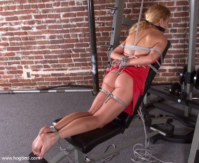 Photo number 9 from Goldie shot for Hogtied on Kink.com. Featuring Goldie in hardcore BDSM & Fetish porn.