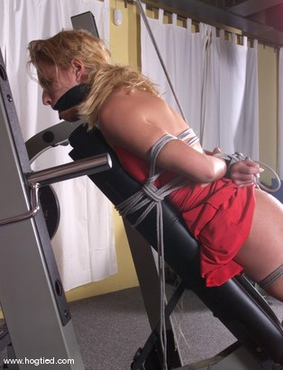 Photo number 10 from Goldie shot for Hogtied on Kink.com. Featuring Goldie in hardcore BDSM & Fetish porn.