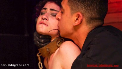 Photo number 21 from Lydia Black Sexual Disgrace Punk Rock Cock shot for Sexual Disgrace on Kink.com. Featuring Lydia Black  and Bruno Dickemz in hardcore BDSM & Fetish porn.